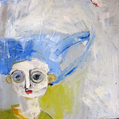 Deborah Hake Brinckerhoff, 'Blue hair', 2012