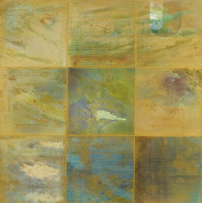 William Tillyer, 'Nine Reflections', 2015-2019