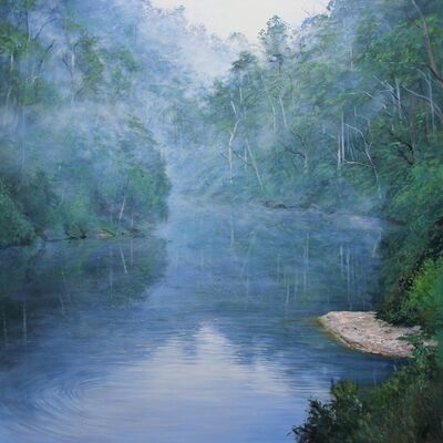 Paul Evans, 'River Mist', 2019
