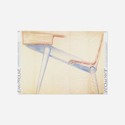 After Jean Prouve, 'Jean Prouve: L'Imagination Constructive exhibition post', 1983