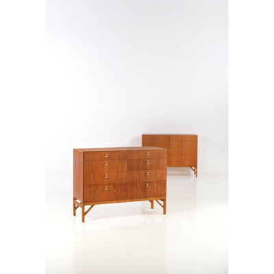 Börge Mogensen, 'Pair of drawers - Modèle n°234', 1958
