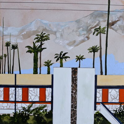 Charlotte Keates, 'Palm Canyon Drive', 2017