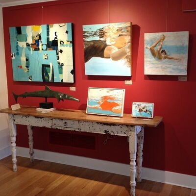 At The Shore, installation view