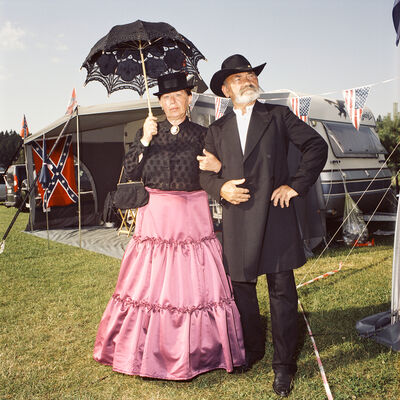 Naomi Harris, 'Genteel Couple, Western Park, Czech Republic', 2010