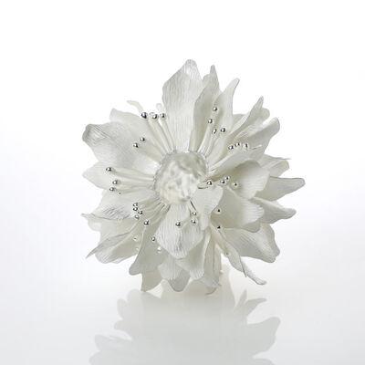 Junko Mori, 'Silver Organism; Sakura Dew', 2019