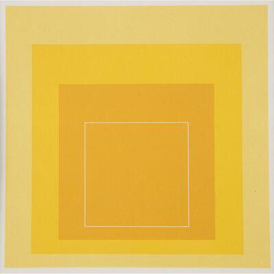 Josef Albers, 'Sample Portfolio (White Line Squares I-XIII)', 1966