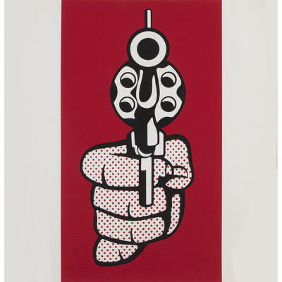 After Roy Lichtenstein, 'Pistol, from Banner, Multiples Calendar, 1969', 1968