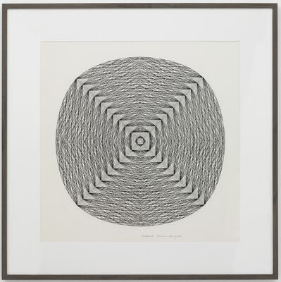 Channa Horwitz, 'Centered I', 1982