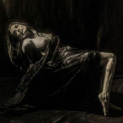 Louis Zucchi, 'Draped Nude', 2015