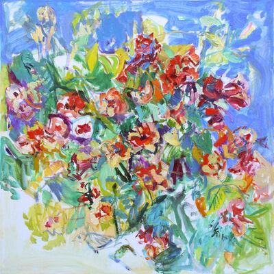 Sonia Grineva, 'Red Flowers'