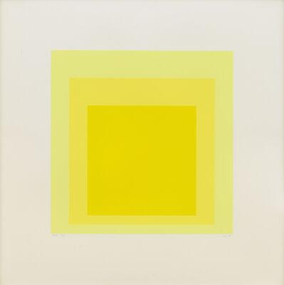 Josef Albers, 'EK Ig', 1970