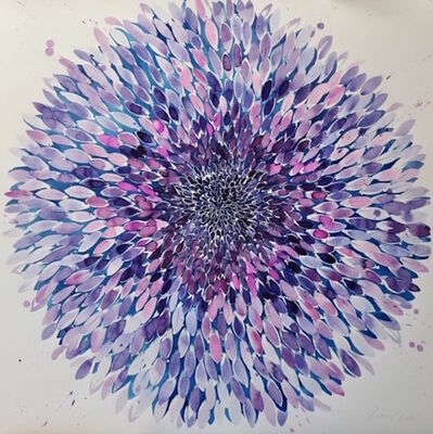 Idoline Duke, 'Big Purple Flower 3.16', 2016