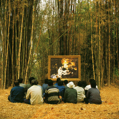Araya Rasdjarmrearnsook, 'Two Planets: Manet's Luncheon on the Grass and the Thai Villagers', 2008