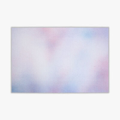 "Isabelle Cornaro, 'Reproductions ""Choses #1"" (Blue)', 2020"