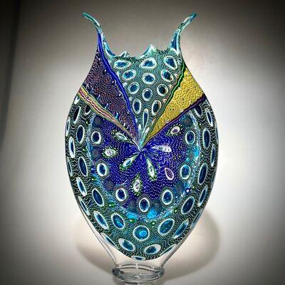 David Patchen, 'Emerald Aqua Foglio', Contemporary