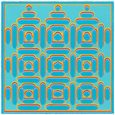 Dan Walsh, 'Manifold-Blue', 2014
