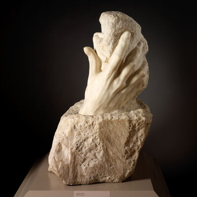 Auguste Rodin, 'The Hand of God', designed ca. 1898; carving completed ca. 1917
