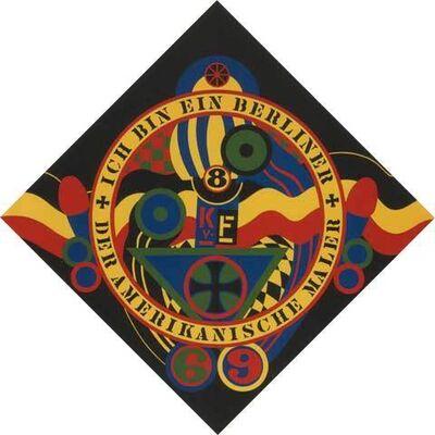 Robert Indiana, 'Hartley Elegies KVF IX', 1990