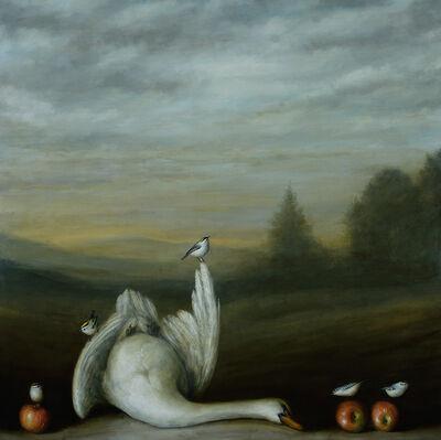David Kroll, 'Landscape (Swan)', 2020