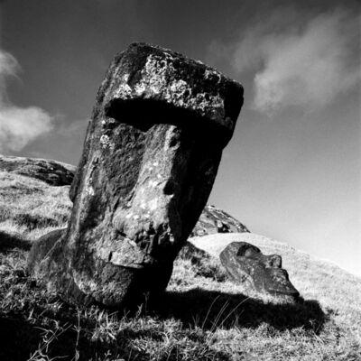 Chris Simpson, 'Rapu Nui -1, Moai at Rano Raraku', 2001