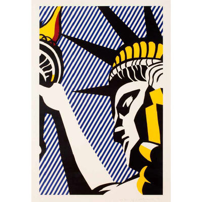 Roy Lichtenstein, 'I love Liberty', 1982