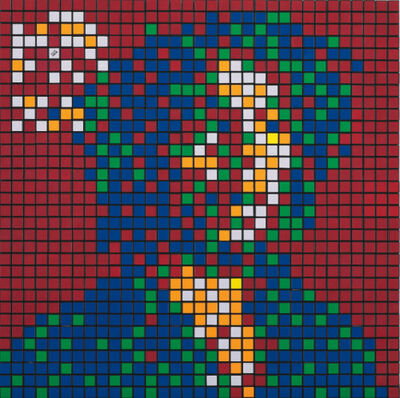 Invader, 'Rubik Rebel Music (Bob Marley)', 2010
