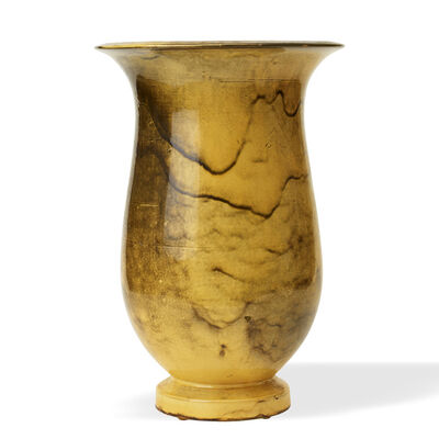 Svend Hammershøi, 'Monumental vase on plinth', 1920s