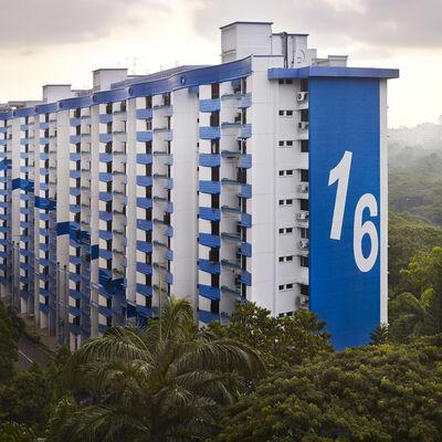 Peter Steinhauer, 'Block #16, Singapore'