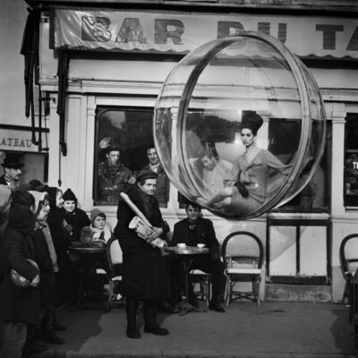 Melvin Sokolsky, 'Bar du Baguette, Paris', 1963