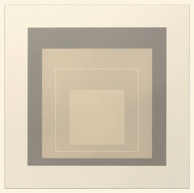 Josef Albers, 'White Line Squares (Series II), XIV', 1966