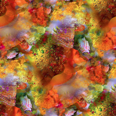 Cathy Ghyoot, 'Floral Bubbles', 2020