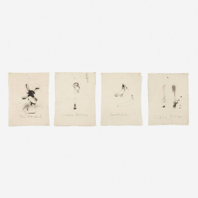 Jim Dine, 'Flaubert Favorites, Edition A (four works)', 1972