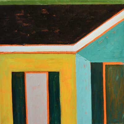 Adrianne Lobel, 'Green House Corner 1', 2018