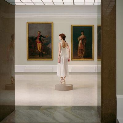 Valery Katsuba, 'Ballerina in the Hall of Goya', 2016