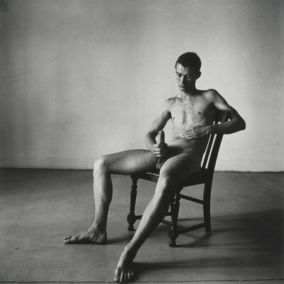 Peter Hujar, 'Seated Nude, Bruce de Saint Croix', 1976