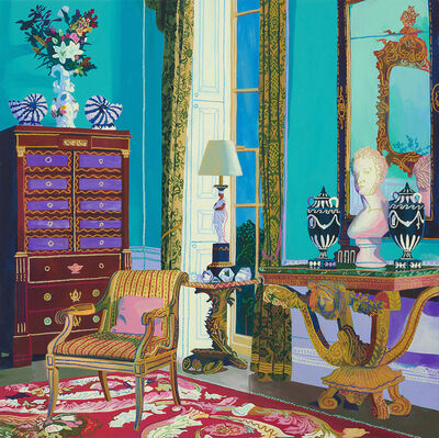 Andy Dixon, 'Christie's (Lord Berners Faringdon House)', 2019