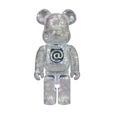 BE@RBRICK, 'BE@RBRICK CRYSTAL DECORATE 400% FIGURINE RARE', 2018