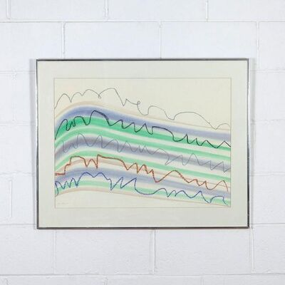KM Graham, 'Mountains Seas and Cliffs', 1975