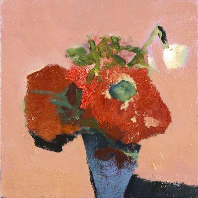 Jennifer Hornyak, 'Poppies with White Flower', 2018