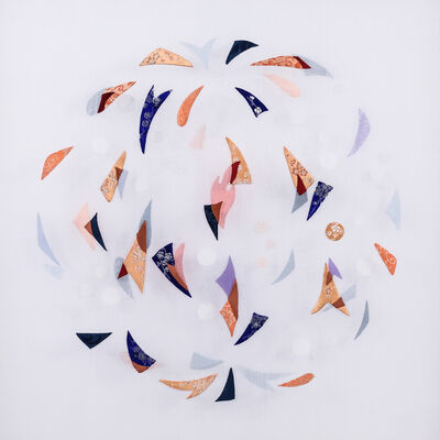 Leslie Nguyen Temple, 'Kinetic Mandala Abstract Series - Pure appearance I 旋舞的曼陀羅 抽象作品系列 - 淨象之一', 2017-2018