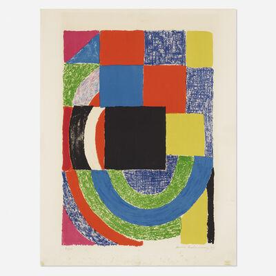 Sonia Delaunay, 'Carre Noir', 1969