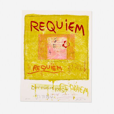 Joan Snyder, 'Requiem/Let Them Rest', 1998