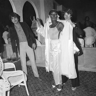 Meryl Meisler, 'Grace Jones Arrives on Opening Night La Farfalle, NY, NY. June 1978', 2018