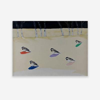 Anne Neely, 'Chickadees'