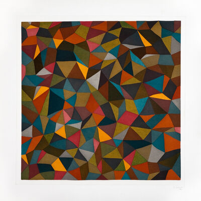 Sol LeWitt, 'Complex Forms (Set of 5)', 1990