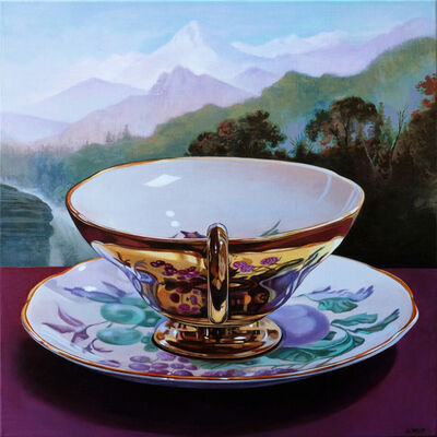 Sherrie Wolf, 'Gold Luster Teacup', 2019