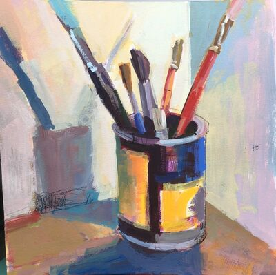 Janet Pedersen, 'Paintbrushes', 2021