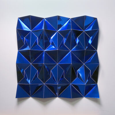 Matt Shlian, 'Ara 377 in blue', 2018