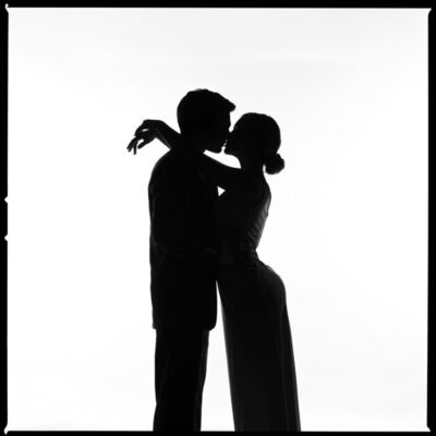 Tyler Shields, 'The Kiss Silhouette', 2020