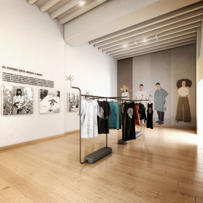 The future is handmade: Carla Fernández, installation view